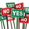 LIFE, UNWOUND: YES MEANS NO, NO MEANS YES