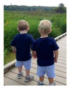 2 small boys holding hands: heartfulness