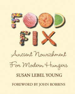 "front cover of book, ""Food Fix: Ancient Nourishment for Modern Hungers"""
