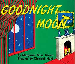 book cover for Goodnight Moon children's book