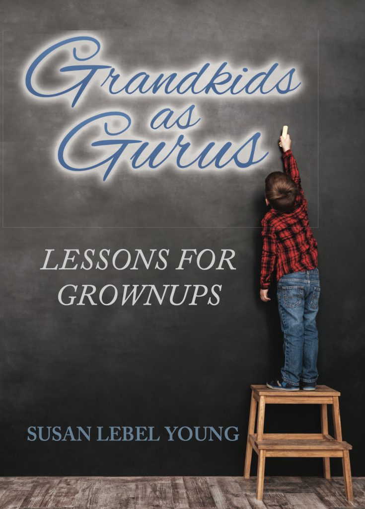 "front cover of book, ""Grandkids as Gurus: Lessons for Grownups"""